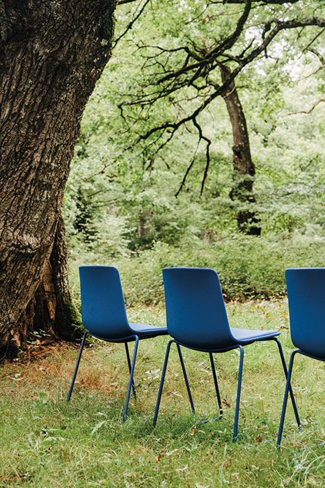 Lottus chairs blue