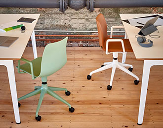 Polly mobile office chairs