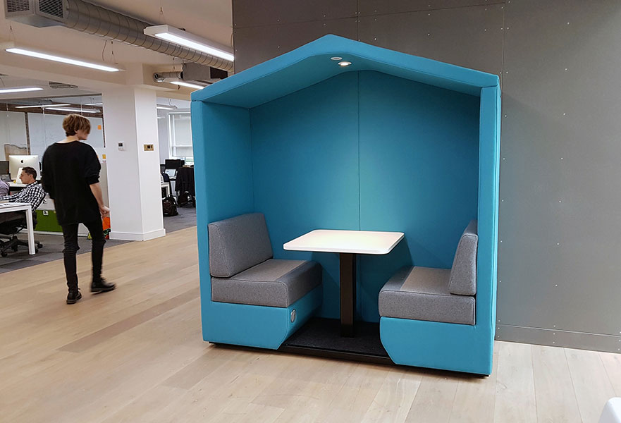 2 seat Office cabin