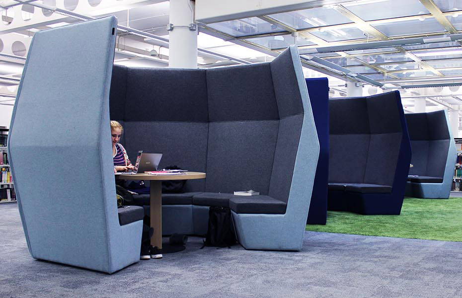 Acoustic study booths