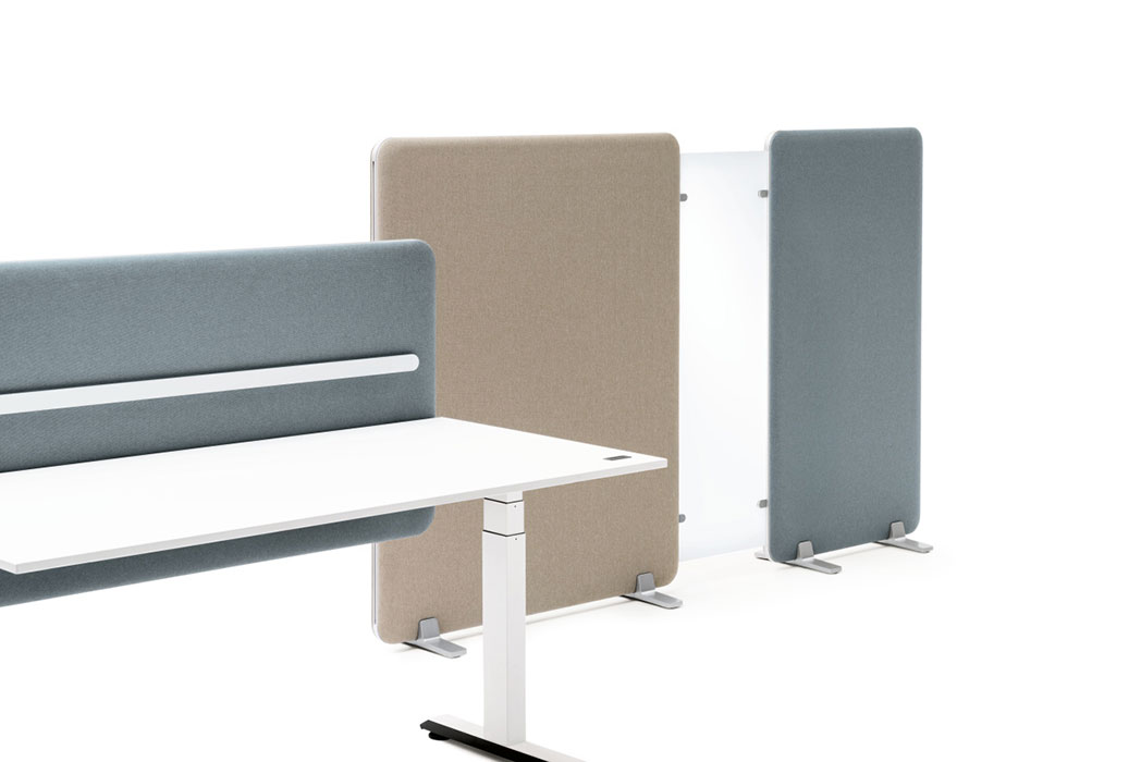 Se Wall desk and floor standing office partitions