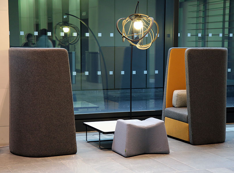 Busby Chair Busby Acoustic Seating Acoustic High Chair