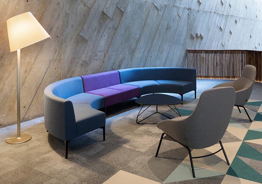 Symbol Sofa Modular Sofa System Landscape Seating
