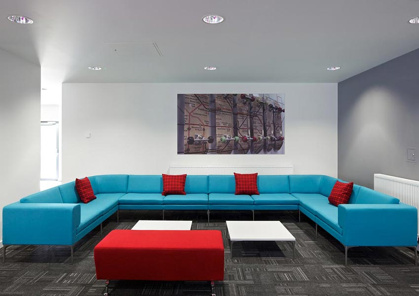 Vale reception sofa