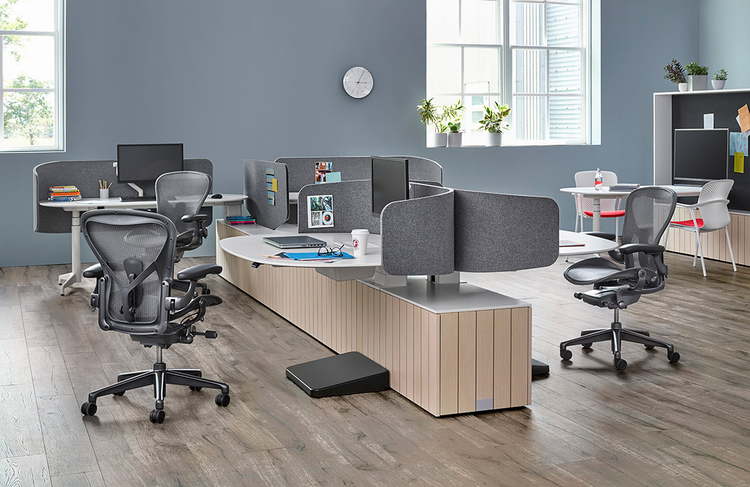 Aeron chairs in office